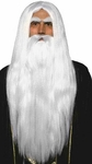 Adult Long Merlin Wizard Wig