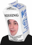 Missing Person Easy Costume