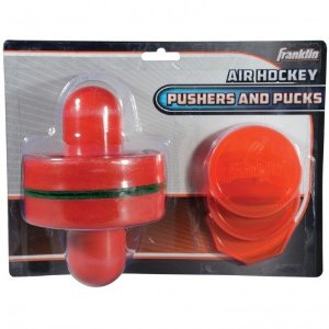 Air Hockey Sport Pushers and Pucks Set