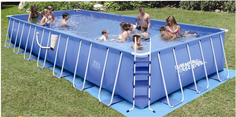 12 Ft Metal Frame Pool Cover