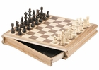 14 inch Sector Drawer Chess Set