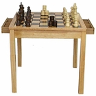 "26�"" Chess & Checker Table Set"