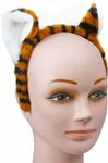 Adult Tiger Headband with Ears