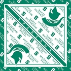 Michigan State Spartans Bandanas