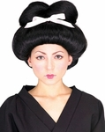 Adult Geisha Girl Costume Wig