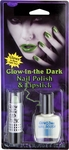 Glow-in-the-Dark Nail Polish & Lipstick Kit