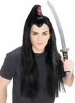 Adult Samurai Warrior Costume Wig