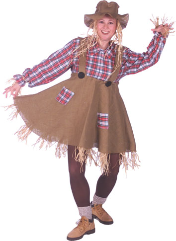 how to make a scarecrow costume