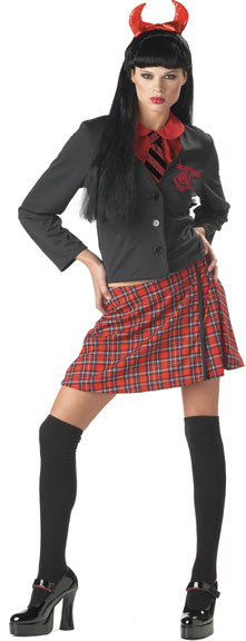 Adult Wicked School Girl Costume