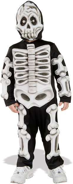 Toddler Eva Skeleton Costume