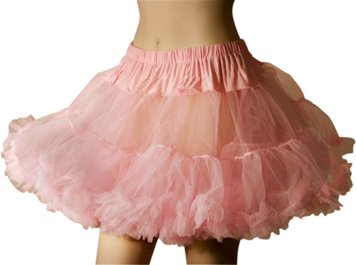 Pink Soft Tulle Petticoat