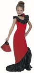 Child's Flamenco Dancer Dress Costume