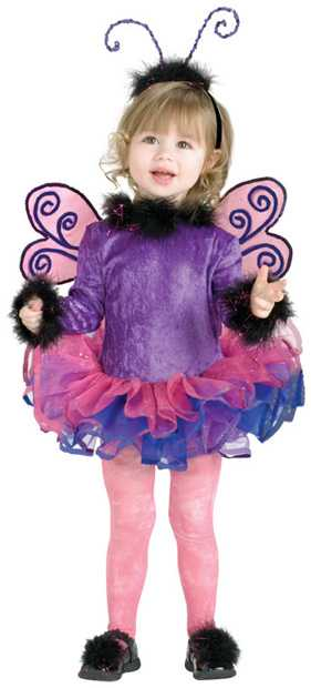Child's Purple Butterfly Costume