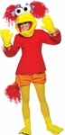 Adult Fraggle Rock Red Costume