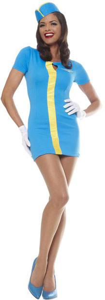 Adult Retro Pan Am Costume