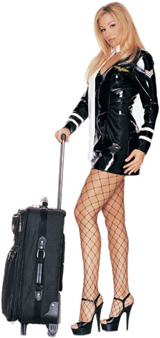 BDSM Flight Attendant Costume