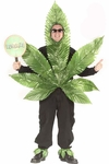 Adult Pot Leaf Costume