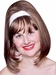 60s Style Brown Go-Go Girl Wig