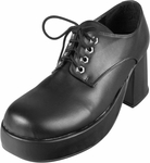 Men's Black Platform Shoes