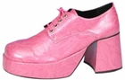 Men's Pink Platform Shoes