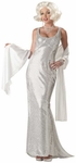 Woman's Platinum Marilyn Costume