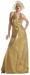 Marilyn Monroe Gold Glamour Costume