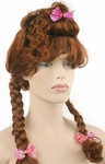 Adult Brown Fairytale Wig