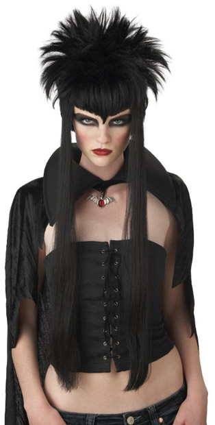 Madame Darkness Vampiress Wig