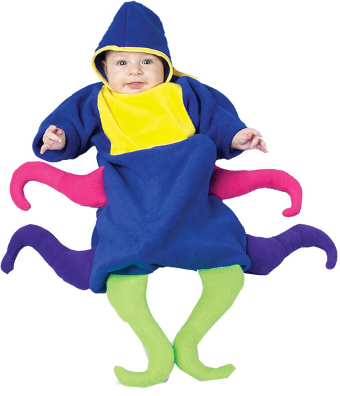 Baby Colorful Octopus Costume