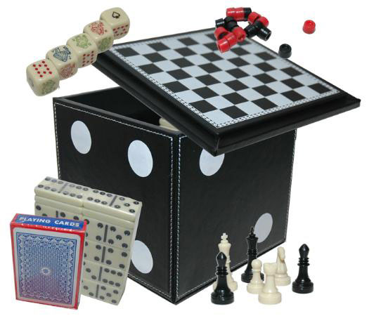 4� inch 5 in 1 Dice Cube Game Set Game