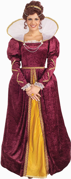Women's Queen Elizabeth Costume