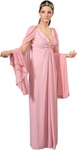 Women's Rose Roman Toga Robes Theater Costume