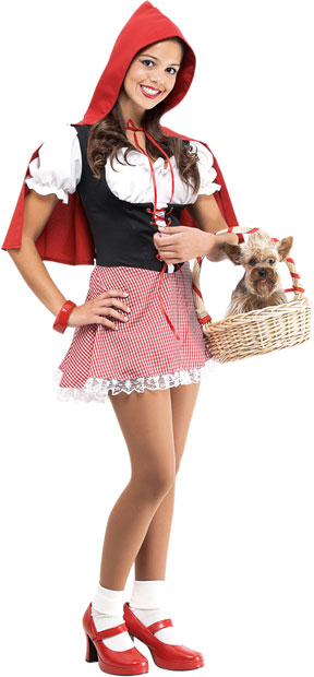 Teen Little Red Riding Hood Costume