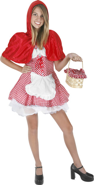 Preteen Red Riding Hood Costume