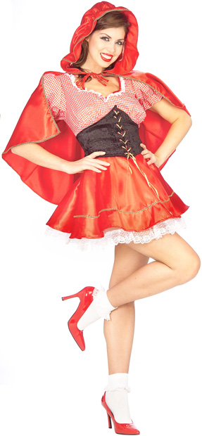 Woman's Little Red Riding Hood Costume