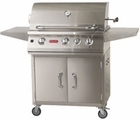 Bull Lonestar BBQ Cart Natural Gas