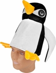 Adult Velvet Penguin Hat
