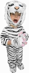 Child's White Tiger Costume