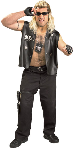 Adult Dog The Bounty Hunter Costume