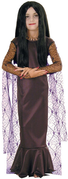Child's Morticia Costume