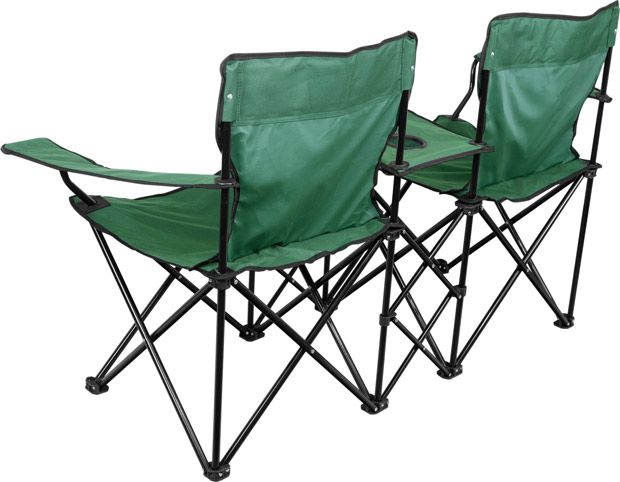 Double Camping Chair Folding Camping Chairs
