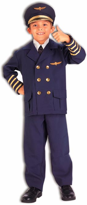 Child's Airline Pilot Costume