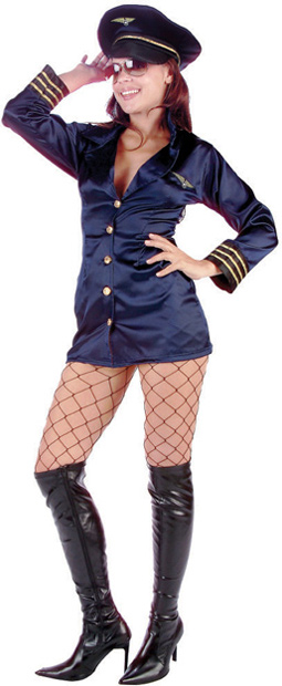 Sexy Flight Captain Costume