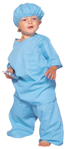 Toddler Scrubs Costume