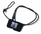 Black Double Swivel Wrist Leash