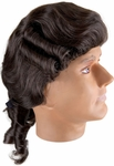 Adult Brown Colonial Man Costume Wig