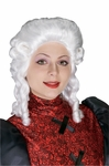 Martha Washington Costume Wig