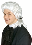 White Ben Franklin Wig