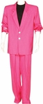 Pink Miami Vice 80s Suit Plus Size Costume