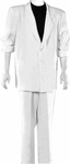 White Miami Vice 80s Suit Plus Size Costume